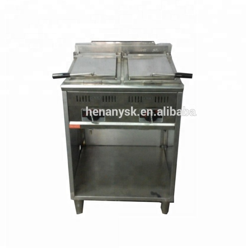 Commerical Vertical Gas Pancake Fried Soup Dumplings Machine