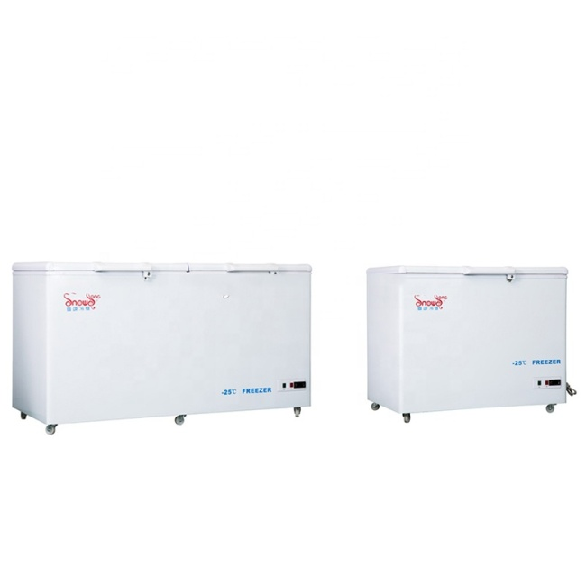 CE ISO -10~ -25 Degree Low Temperature Deep Freezer Vertical 220L~1020L Laboratory Deep Freezer