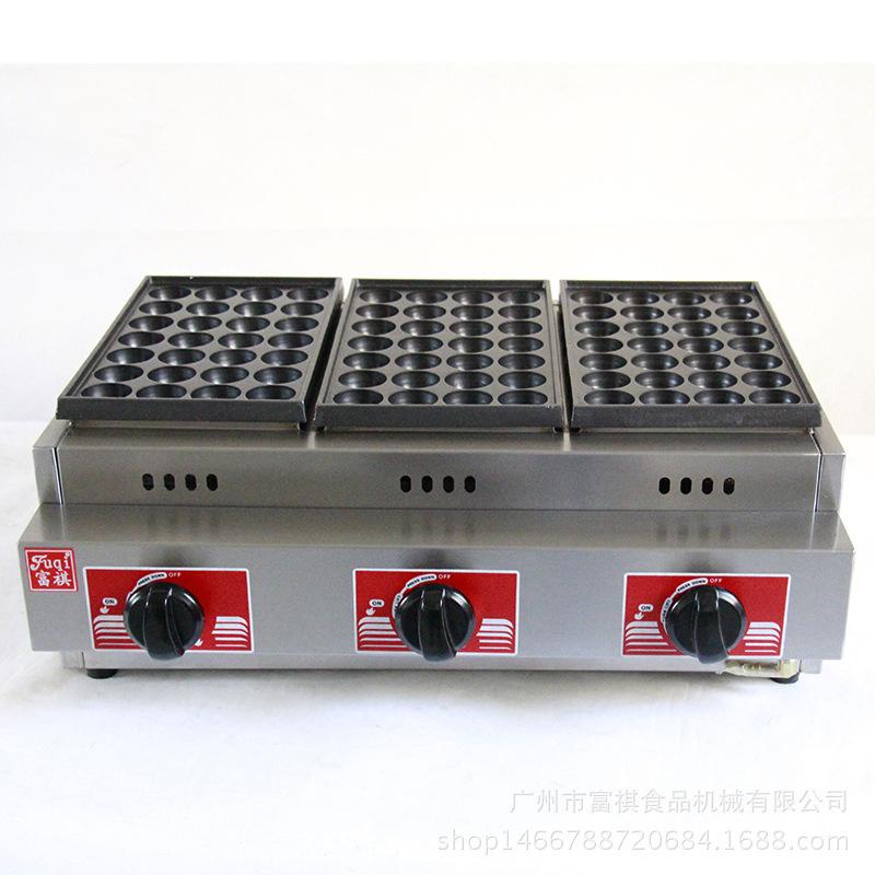 GH-768 Ceramic Automatic Malaysia Herramienta Japanese LPG Gas Fish Ball Pan Cooker Takoyaki Pan Grill Machine