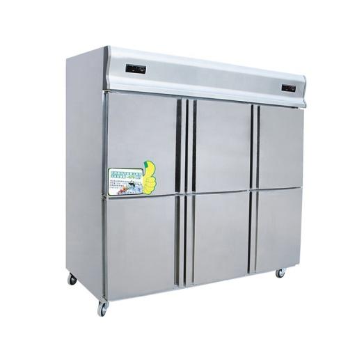 2 Temperature 4 Door Commercial Stainless Steel Deep Freezer Made in Henan Guangzhou