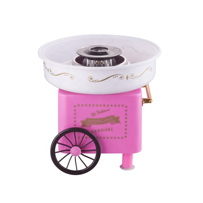 Mini Cotton Candy Machine Cart Household Mini Cotton Candy Maker Commercial Cotton Candy Machine For Sale