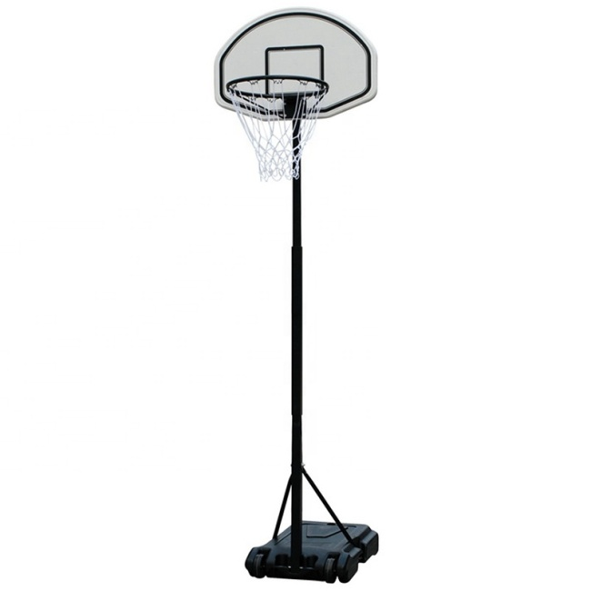 Fitnessclub Portable Adjustable Basketball Hoop Stand For Kids Junior Height Adjustable Basketball Hoop W/wheels