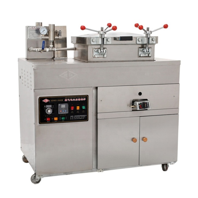 380v/220v (Gas +electric 220v) Electric duck pressure fried duck oven blast Deep fryer for duck