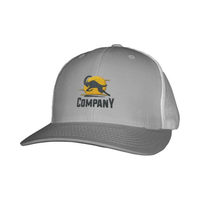 6-Panel Cotton twill Custom Trucker Hats-Embroidery
