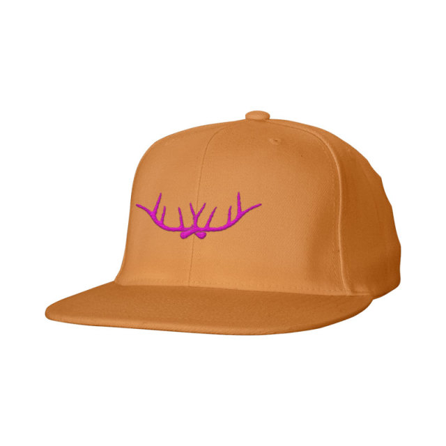 Cotton Snap Back Flat Bill Cap-Embroidery