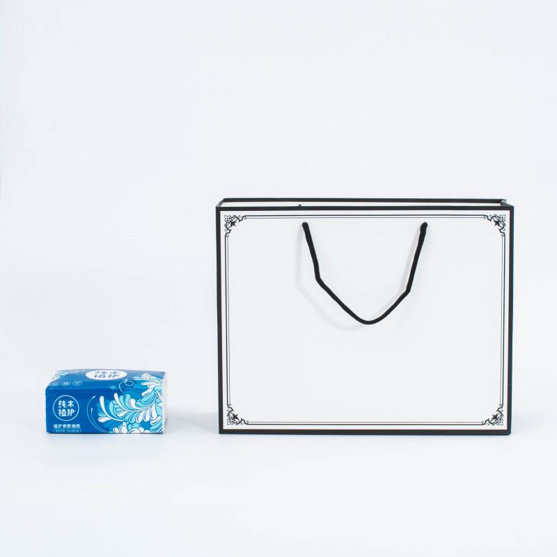 China wholesale luxury bolsas de papel white cardboard paper bag paper shopping bag custom printed paper gift bag