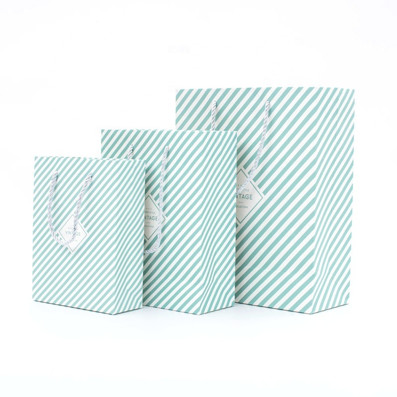 High Quality Paper Bag With Logo Print Gift Bags For Jewelry Packaging