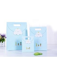 Sacola De Presente Custom Fliege Geburtstag Kleine Geschenktüte Tragbare Papiereinkaufstasche Mit Band Für Hochzeit