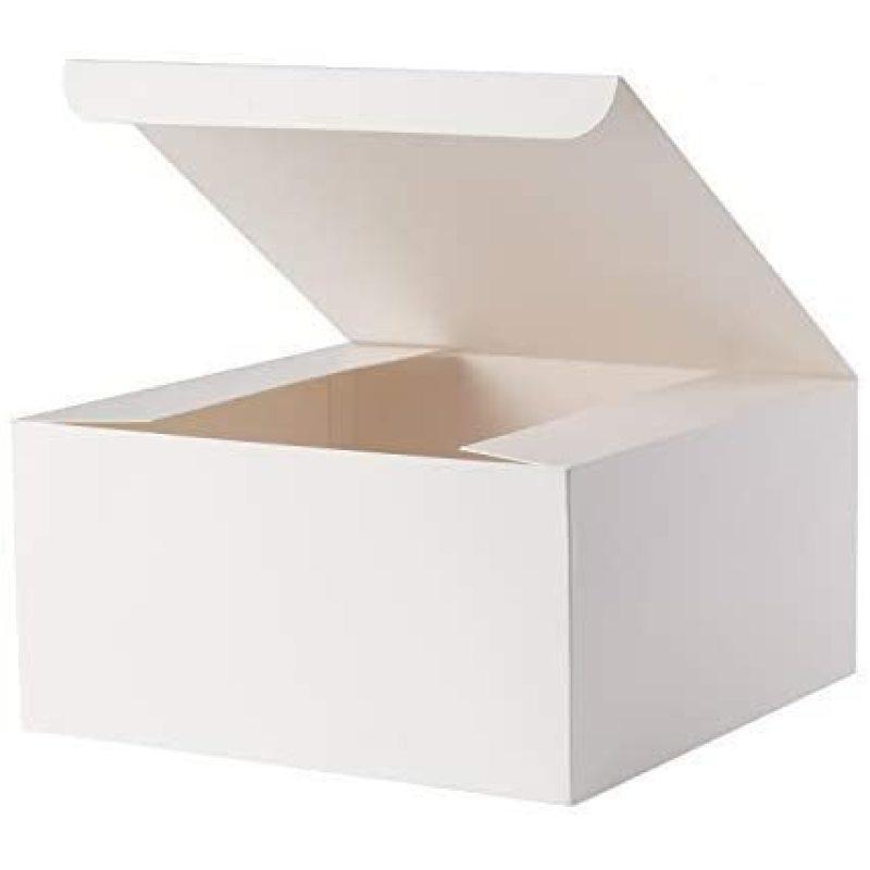Customizable high quality food grade cardboard cake macarons bread paper box