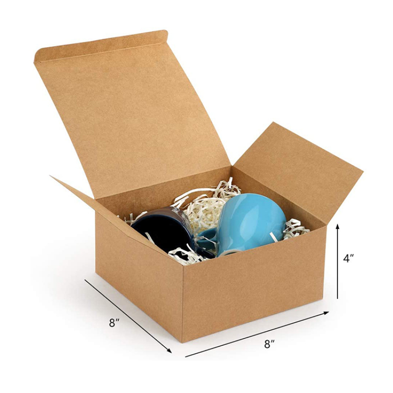Sturdy cardboard used for Christmas and Halloween parties prevents breakage of homemade craft paper boxes