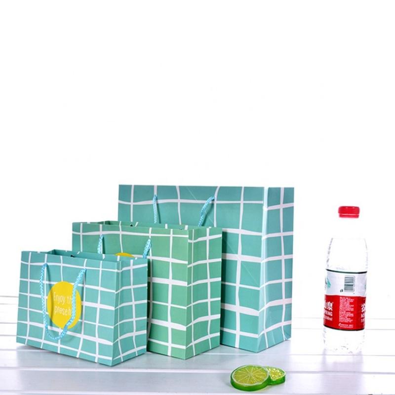 Custom store use paper gift bag,large paper bag gift,shopping paper bag for gift