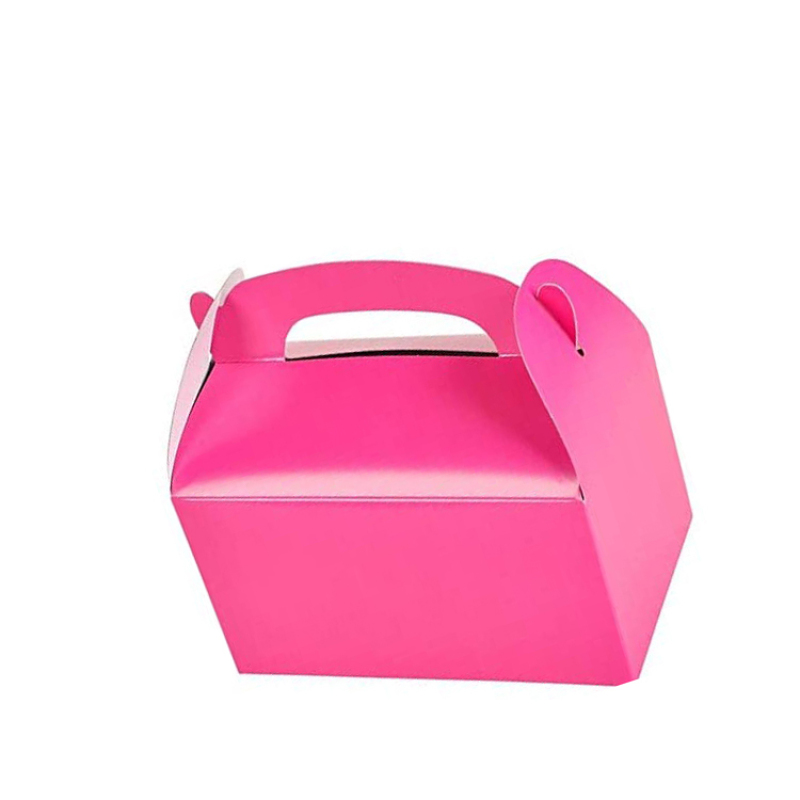 High quality environmentally friendly folding paper box for children s birthday party paper box for food