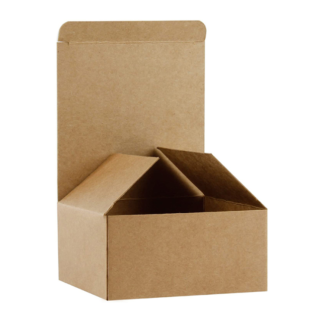 Customizable suitable for restaurant wedding party celebration food container paper box brown paper box