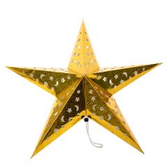 Christmas wedding party festival hanging decoration handmade lantern paper pentagram crafts