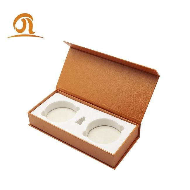 Custom Logo Printing Paper Cardboard Rigid Magnetic Closure EVA Foam Protection Tea Pack Packaging Gift Boxes