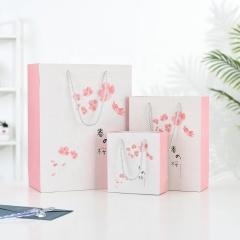 Custom matte print black kraft fancy paper gift tea bag packaging