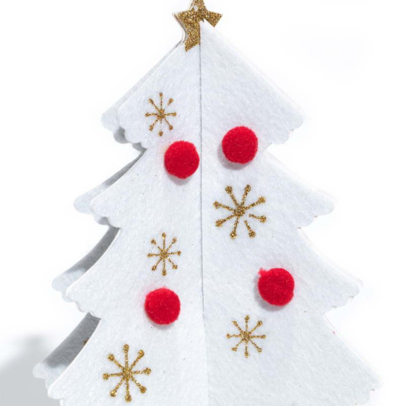 3D Christmas card pop up holiday gift greeting card suitable for Christmas card envelope