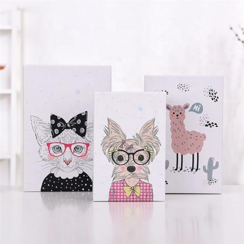 Custom paper shopping bag paper box set