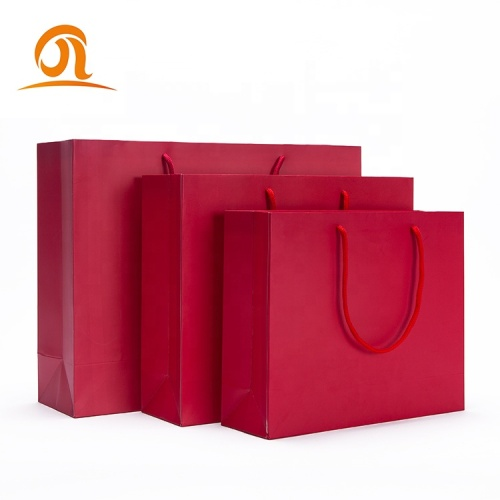 Premium Sturdy Durable 250g Thick Gift Bag Cotton Handles Bag Perfect for Gift Bags Party Bags