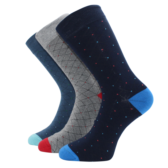 Plaid Cotton Socks