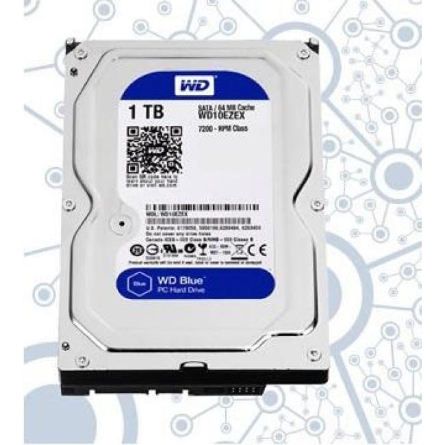 1TB Desktop Computer Hard Disk in Blue