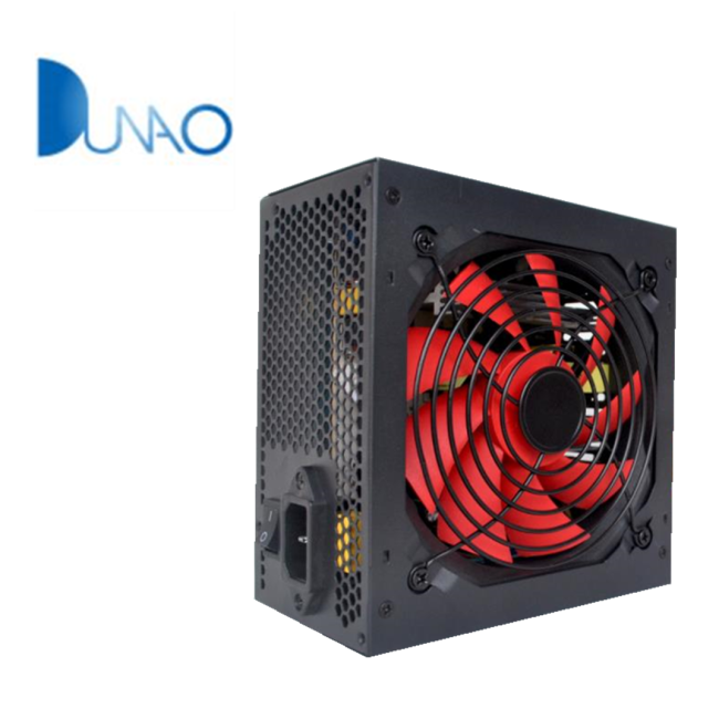 300W red color and big fan desktop computer power supply