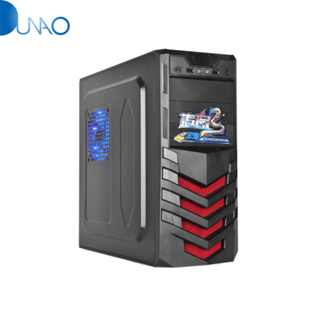 Shield-Type Panel New Designcomputer Case Full Tower ATX PC Case