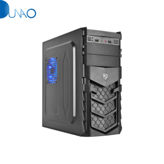 Shield Panel Designed Desktop Computer Case