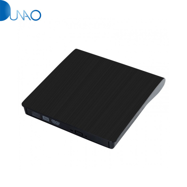 UEB USB 3.0 Ultra Slim External CD DVD RW DVD ROM Drive/Writer/Burner for XP Windows 7,for Windows 8,for Windows 10 - Black YX002