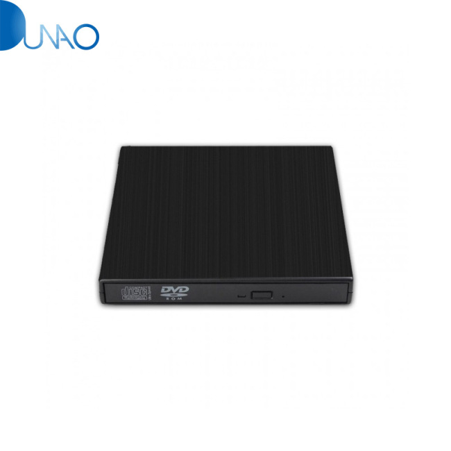 Optical Drive Box External Drive USB 2.0 Writer Drive Slim Black For PC YX004