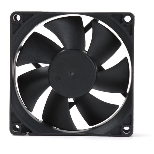 Computer case&power supply using 12cm cooling fan with 4P line