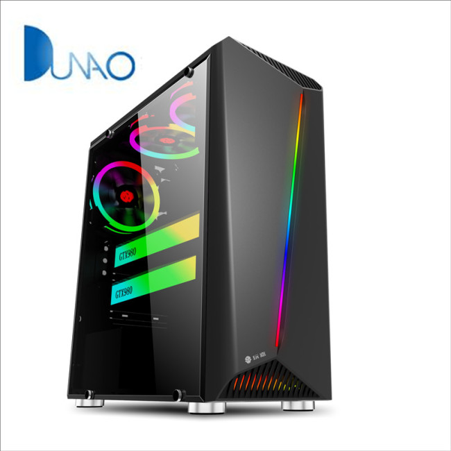 2019 new glass game chassis black color factory price C003-1