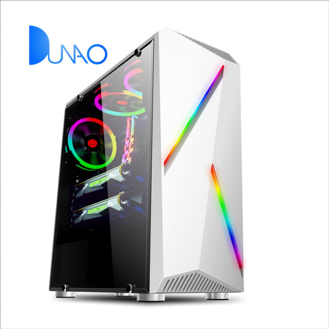 2019 new white glass game chassis factory price C006