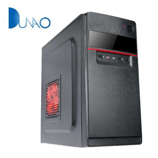 340 hardware new style medium ATX game chassis two materials optional