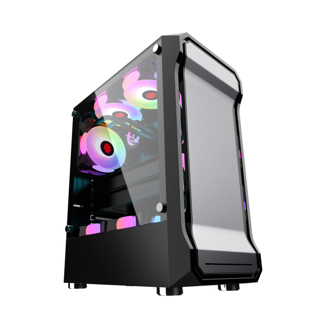 New arrivals ATX M-ATX pc case gaming computer case