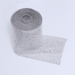 Silver Net Drill Handmade DIY Accessories Wrapper Ribbons Multifunctional Crafts Diamond Wedding Party Supplies Home Decoration