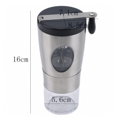 Stainless Steel Hand Crank Grinding, Conical Ceramic Coffee Grinder Home Decoration Accessory Cafetera Coffee Machine