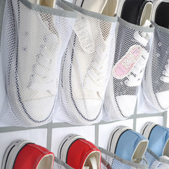 24Pocket Shoe Organizer Door Hanging Shoes Storage Wall Bag Closet Holder Family Save Space Organizador Home Decoration #R25