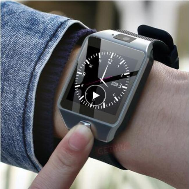 Smartwatch Smart Watch Digital Men Watch For Apple iPhone Samsung Android Mobile Phone Bluetooth SIM TF Card Camera