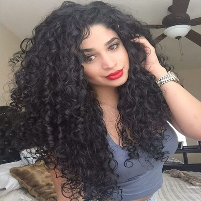 Wig universal wig African curly hair