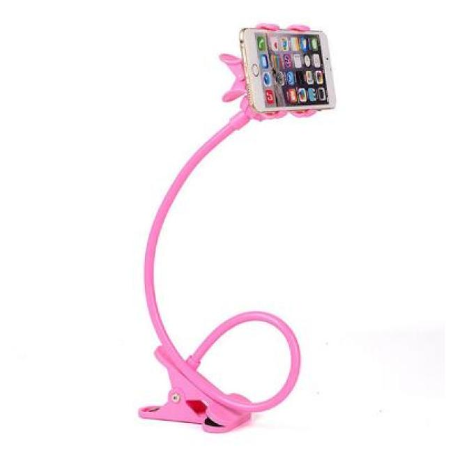 Women Men Lazy Bracket Flexible 360 Clip Mobile Cell Phone Holder Lazy Bed Desktop Bracket Mount Stand Bedroom Gym Office
