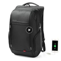 "15""17"" Laptop Backpack External USB Charge Computer Backpacks Anti-theft Waterproof Bags for Men Women"