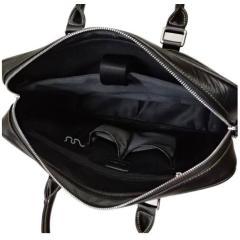 "Luxury Genuine Leather Men's Briefcases 14"" Laptop Handbag Cowhide Men Business Crossbody Bag Messenger Shoulder Bags for Men"
