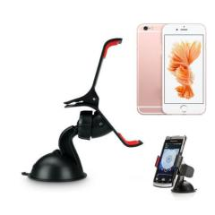 Universal Car Windshield Mount Stand Holder For iPhone Phone GPS Clamping Car Phone Holder 360 Degree