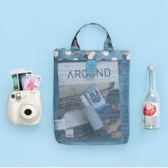 Summer swimming beach bag swimsuit mesh storage bag mesh storage bag wash bag sports handbag