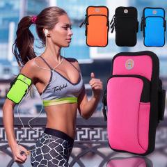 Running mobile arm bag outdoor marathon sports arm bag waterproof arm bag night running bag
