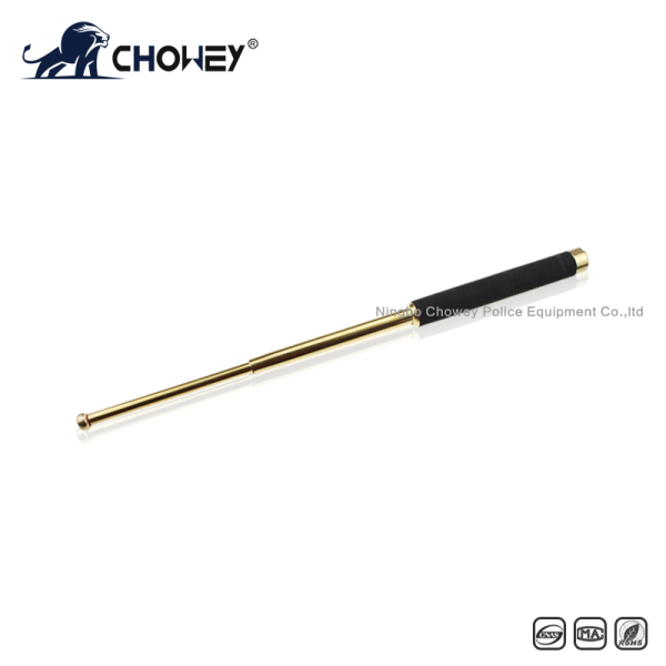 High-quality sponge handle expandable baton BT21G028 gold