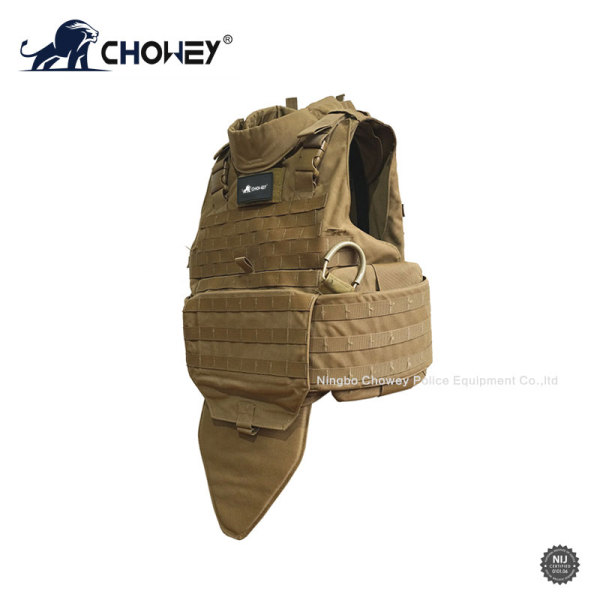 Quick release full-protection tactical bulletproof vest BV0968