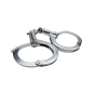 Nickel plated carbon steel handcuffs HC0010