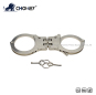 Nickel plated carbon steel handcuffs HC0030